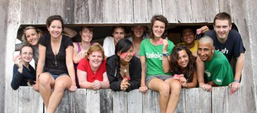 Morna's Raleigh team in Borneo