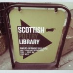 scottish poetry library sign