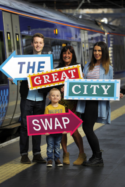 Scotrail Great City Swap. 22/9/16 Picture © Andy Buchanan 2016