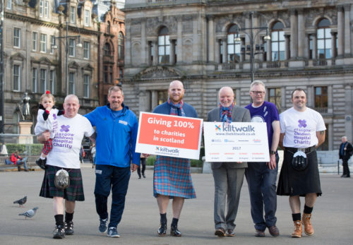 Kiltwalk Marches on to 2017 Photo Call for Big Partnership Photograph by Martin Shields Tel 07572 457000 www.martinshields.com © Martin Shields