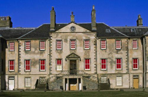 An exterior view of Newhailes near Edinburgh.