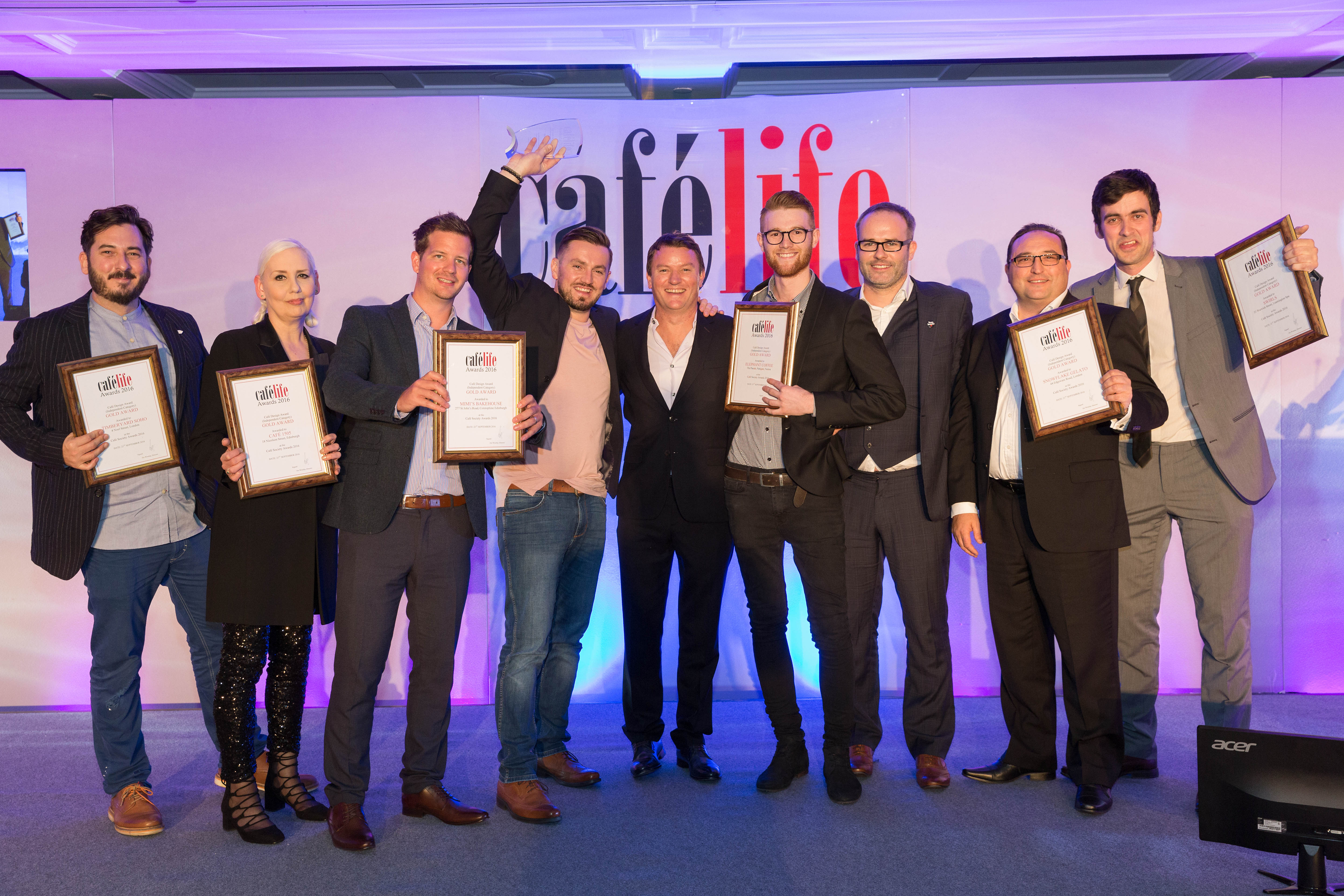 Cafelife competition and awards 2016