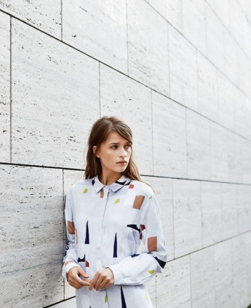 Selected Femme Sfofelia Print Shirtdress