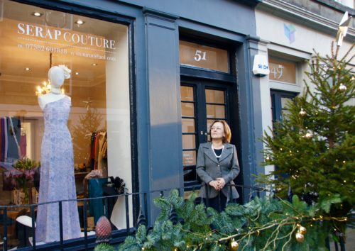 Serap Tomrut has just opened her new atelier on William Street in the West End