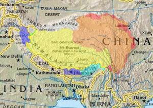 tibet-map