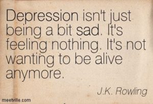 From the Chair of the Hypnotherapist: Depression Isn't ...
