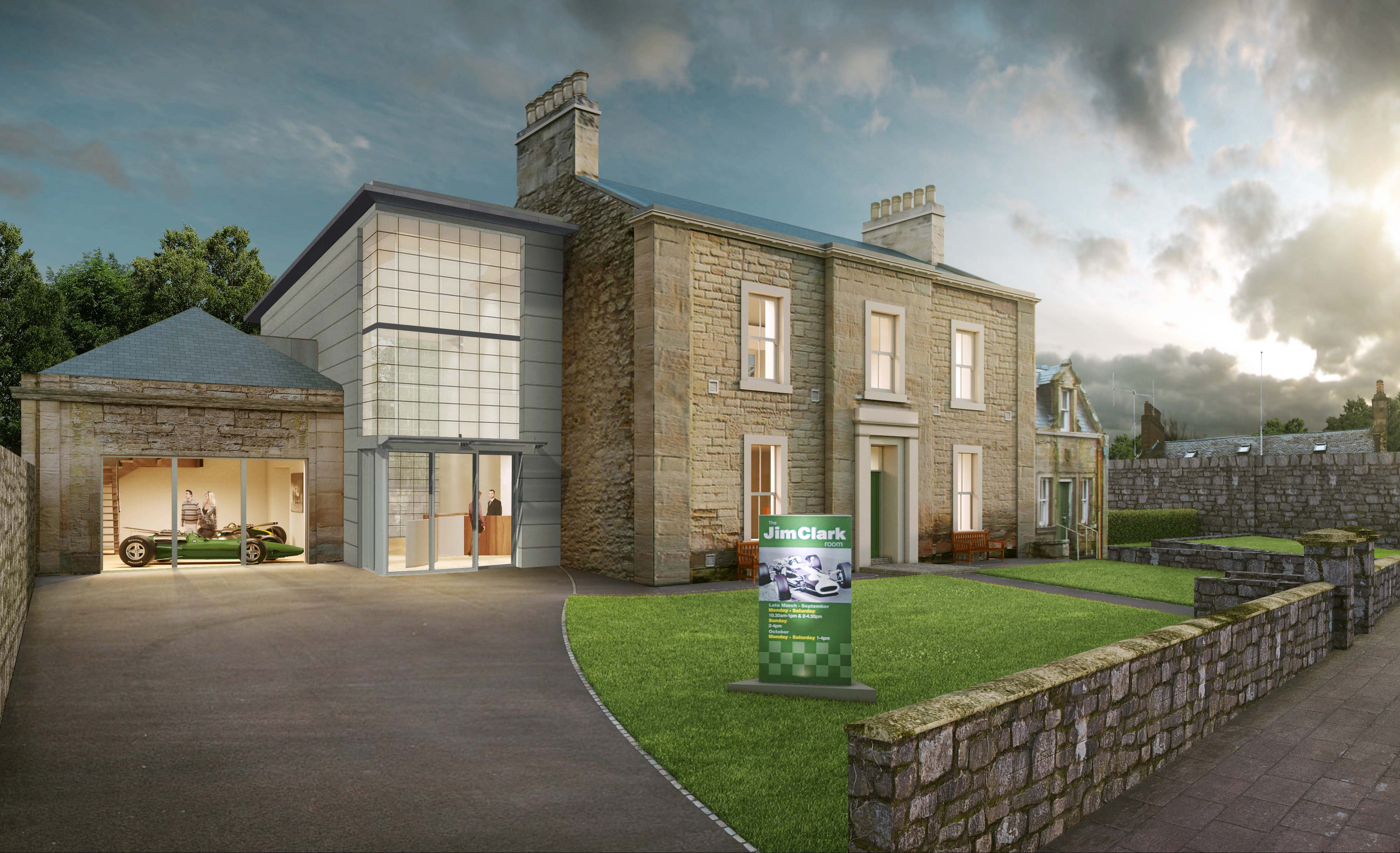 New Jim Clark Museum concept image (lr)   The Edinburgh Reporter