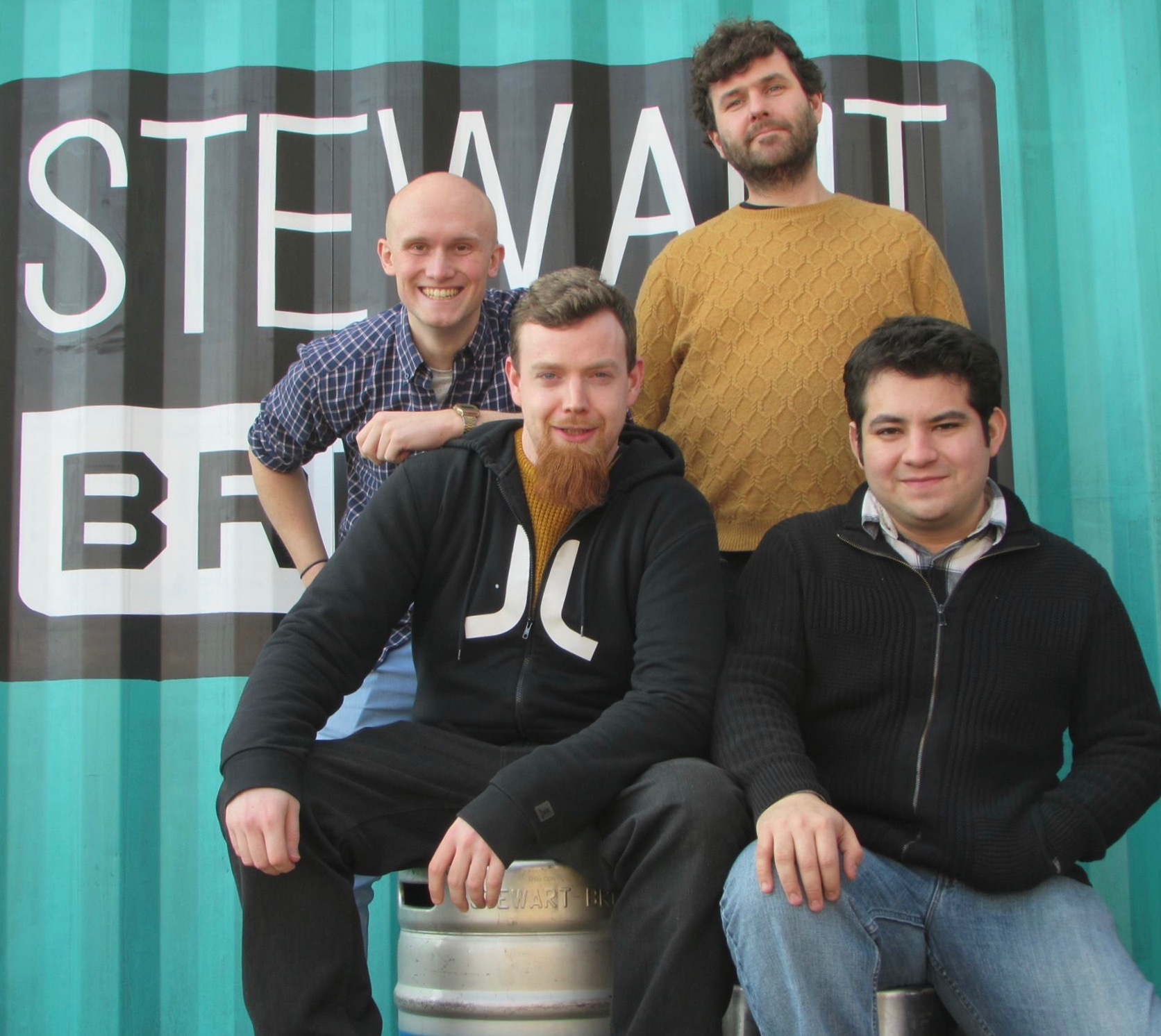Stewart Brewing team up with Heriot-Watt University
