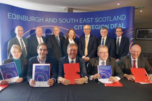 Edinburgh and South East Scotland secures £1.1bn City Deal