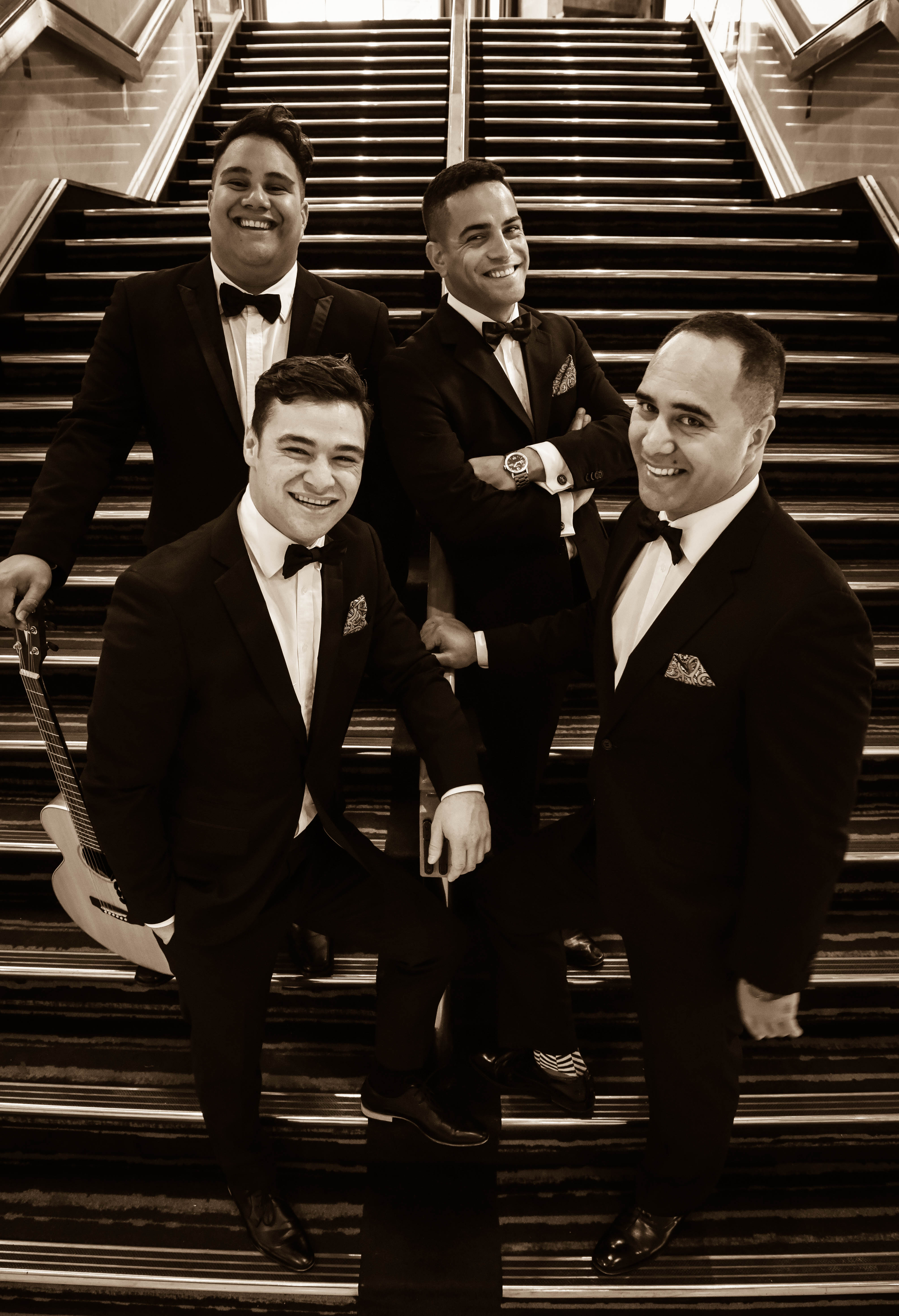 Modern Maori Quartet Edinburgh Fringe Assembly