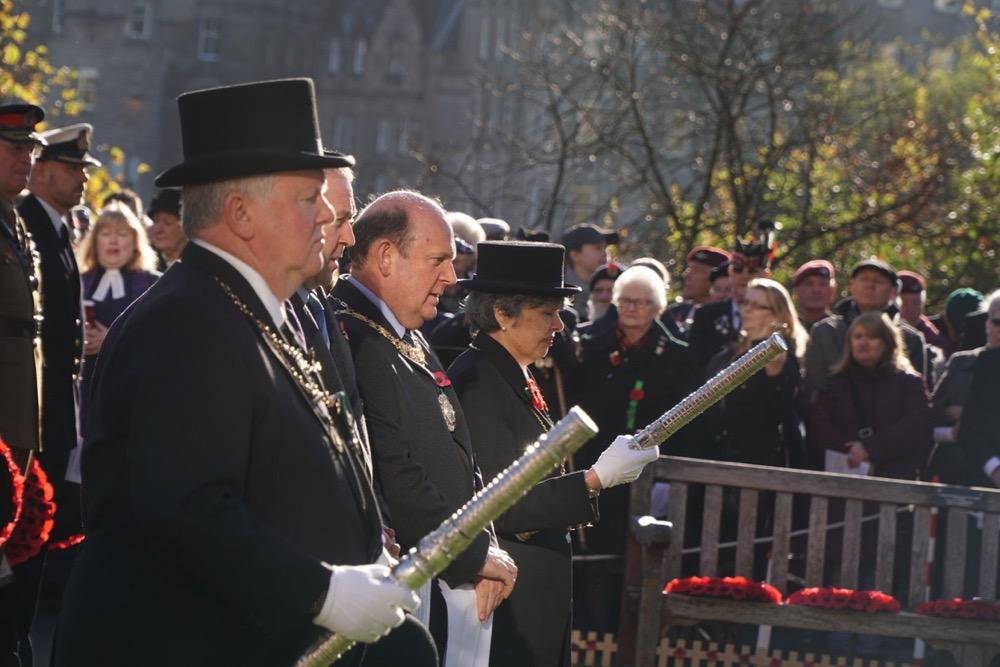 Rt Hon Lord Provost of the City of Edinburgh Frank Ross