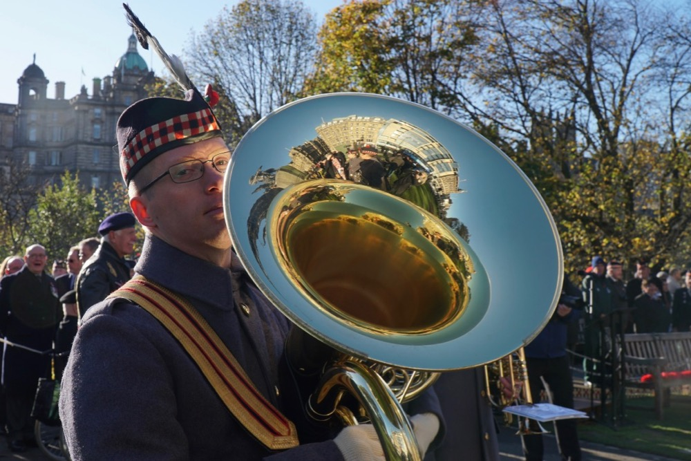 Instrumentalist from the Band of the Royal Regiment of Scotland