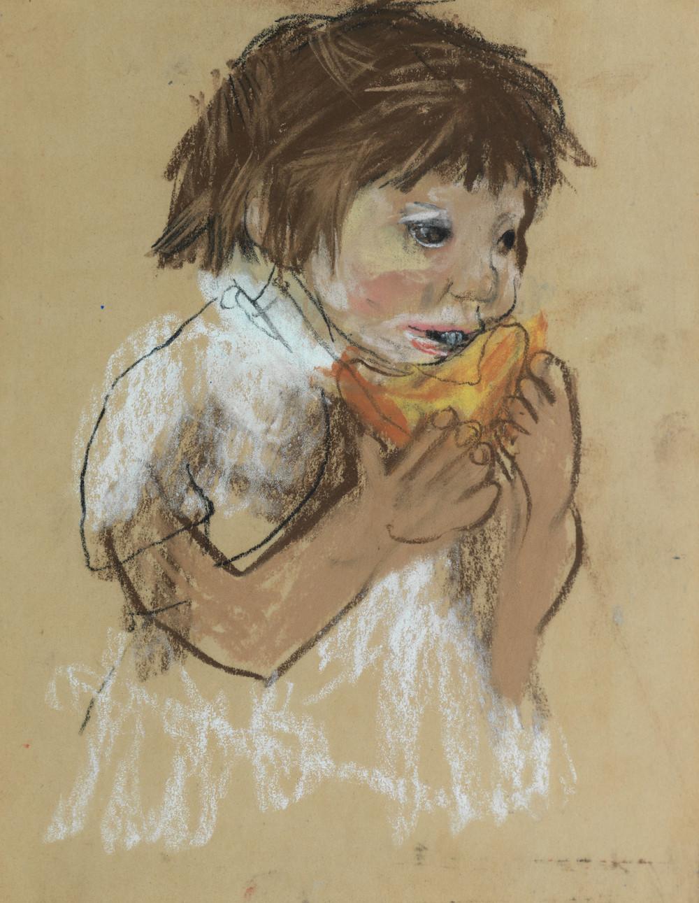 Joan Eardley's Girl Eating Melon