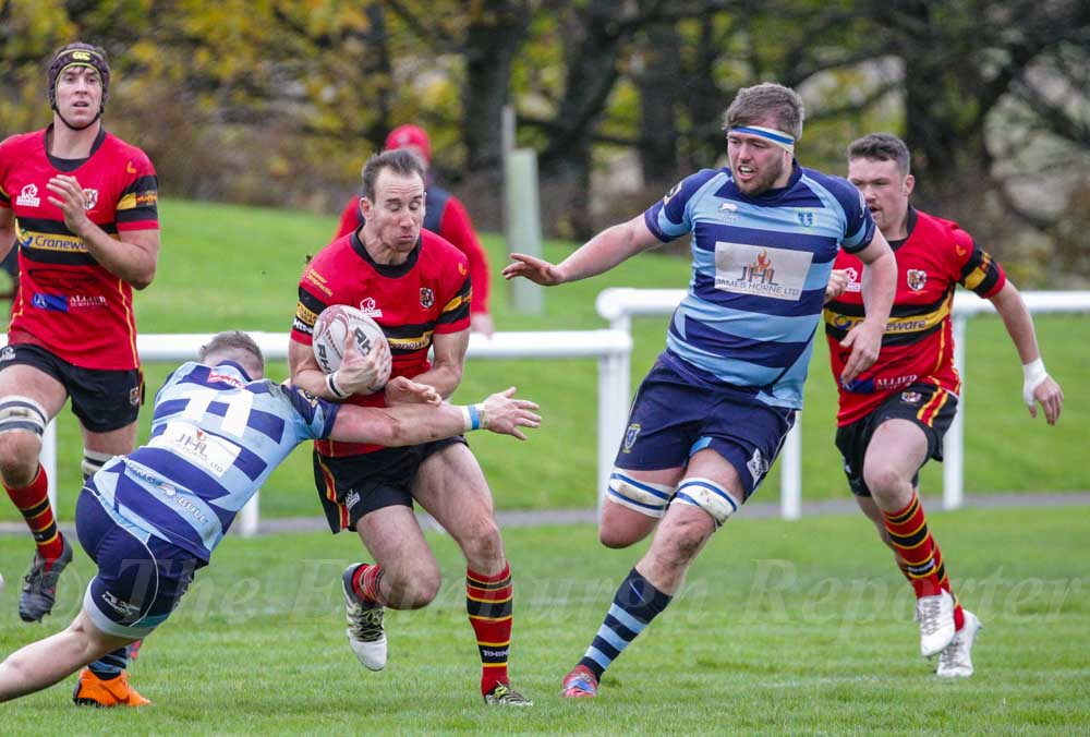 Falkirk v Stewarts Melville, Tennent's NL2
