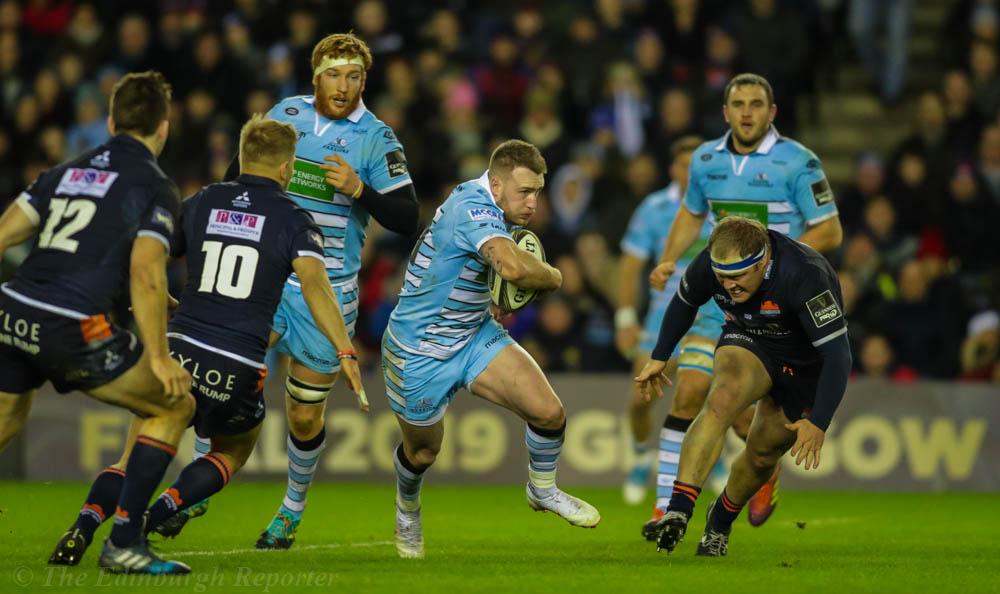 Glasgow's Stuart Hogg on the move