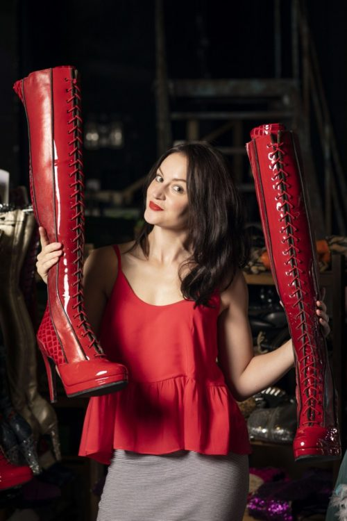 Cast member of Kinky Boots, a musical at the Edinburgh Playhouse from December 2018 to 5 January 2019
