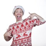 Scottish comedian Karen Dunbar for Save the Children's Christmas Jumper Day 2018