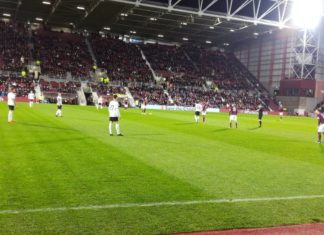 Hearts struggled in a 2-1 loss to bottom club Dundee at Tynecastle on 23rd January 2019