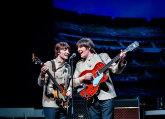 Image from Let it Be, musical story of The Beatles heading to the Edinburgh Playhouse later this year.