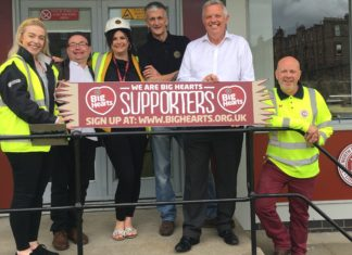 Big Hearts charity celebrates a year in partnership with North British Distellery