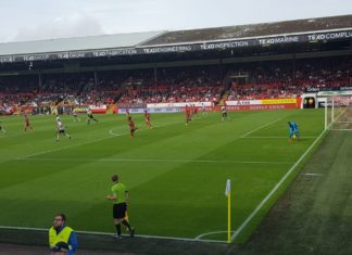 Action from Aberdeen v Hearts 4th August 2019