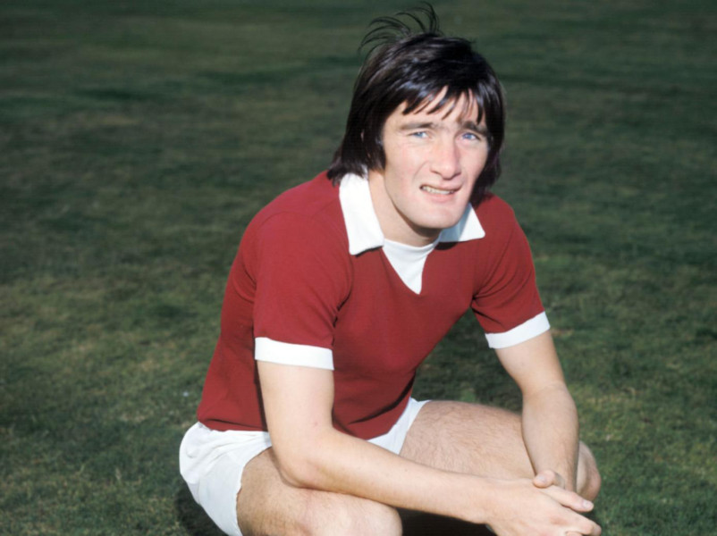 Former Hearts player Bobby Prentice who has died at the age of 65