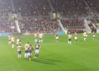 Hearys v Aberdeen Betfred Cup quarter final at Tynecastle, 25th September 2019