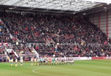 Hearts v St Johnstone at Tynecastle, Saturday 14th December 2019