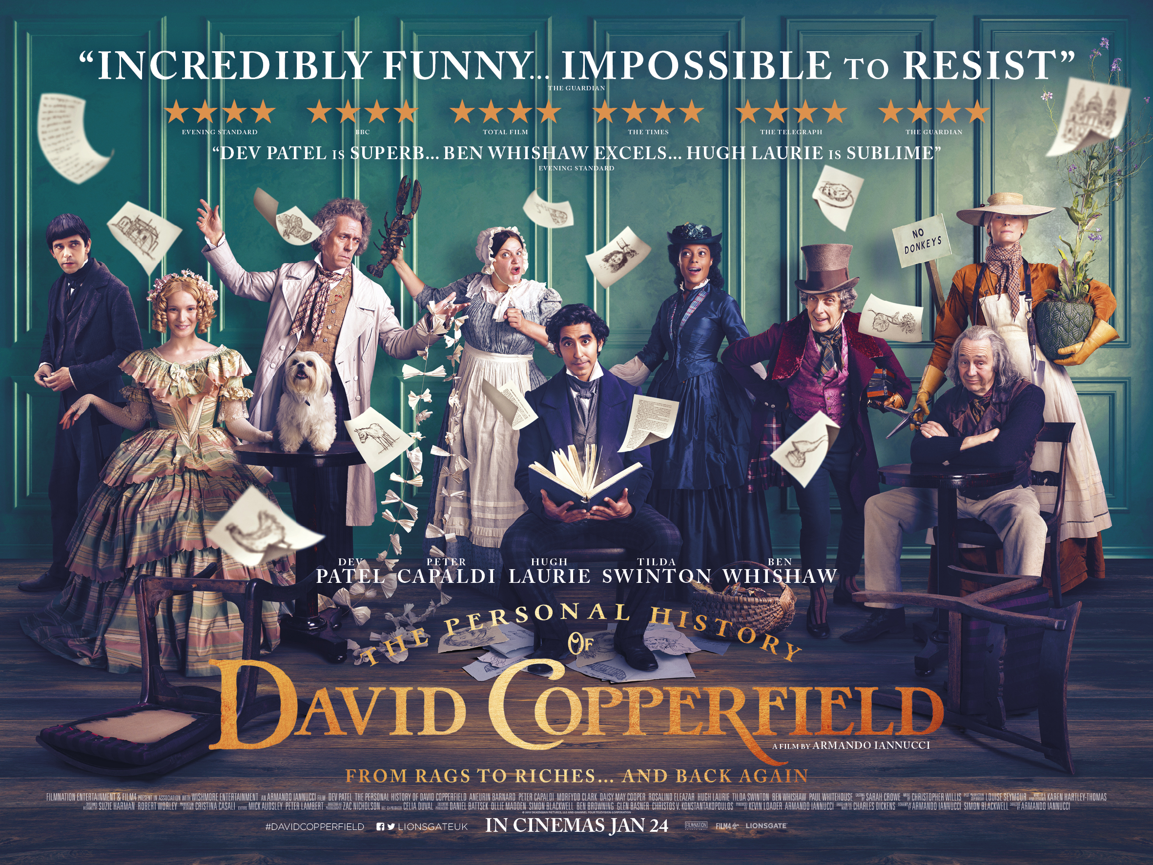 Film Review The Personal History Of David Copperfield The Edinburgh Reporter