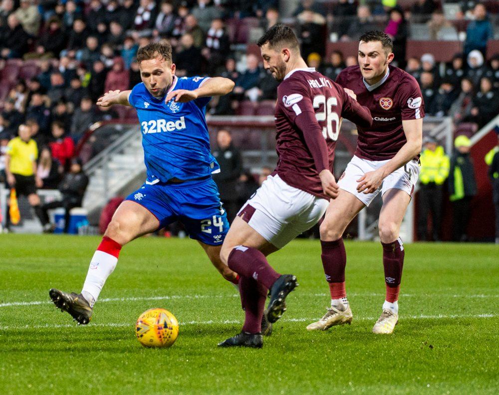 Hearts defender John Souttar