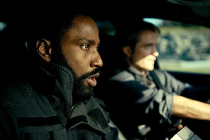 Actors inside a car have a tense exchange