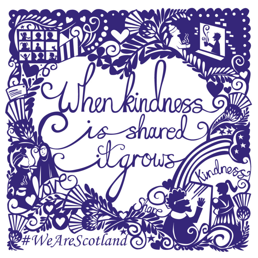 For St Andrew's Day – one million words of kindness | The Edinburgh Reporter