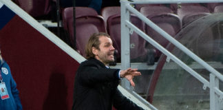 Robbie Neilson is a more animated and motive figure in his second stint as Jambos' boss. Credit: Ian Jacobs