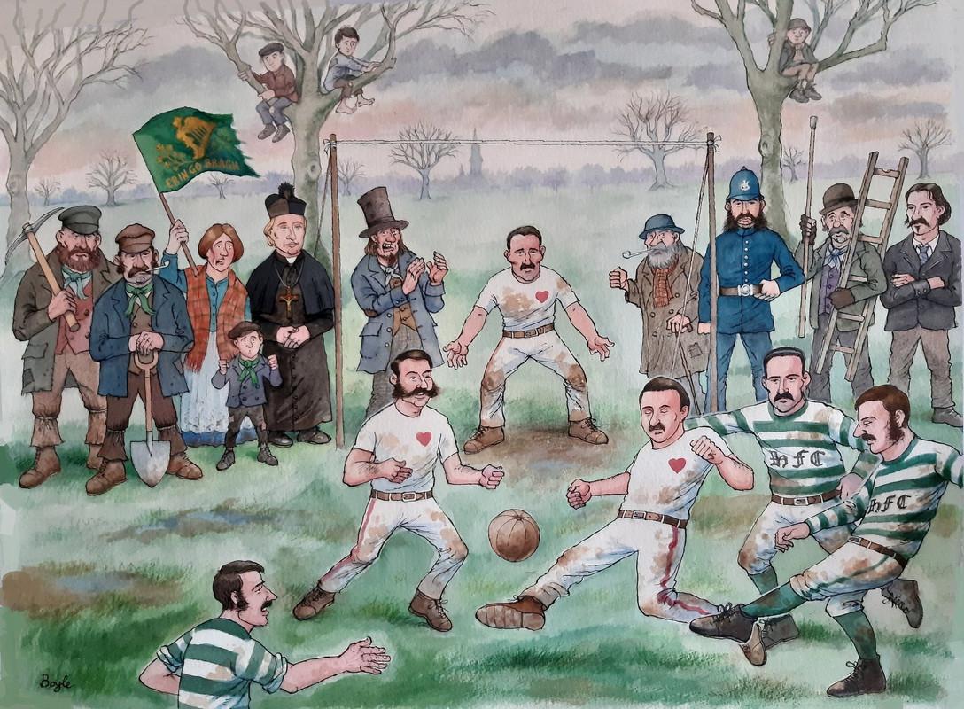 More to Frank Boyle's Edinburgh derby cartoon than meets the eye