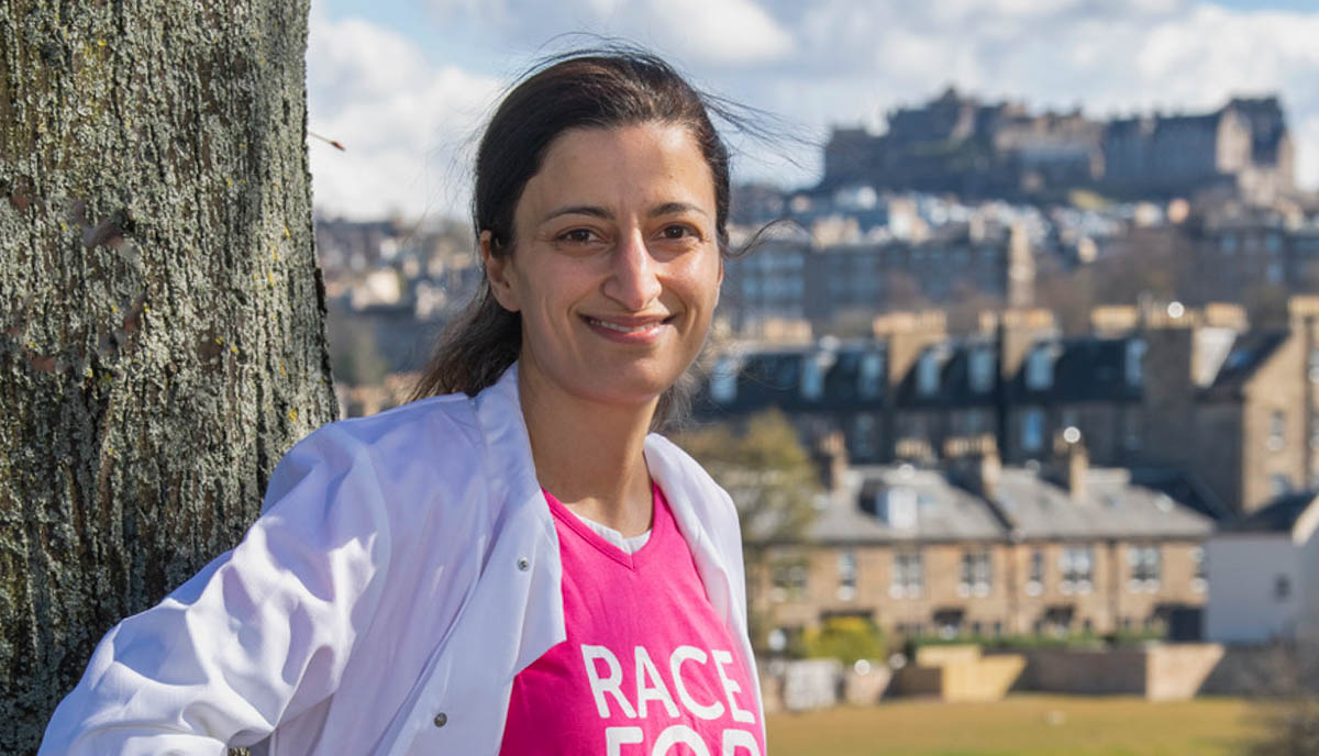 Research scientist urging people to sign up to Race for Life at Home